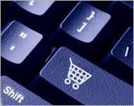 Keyboard with shopping car key