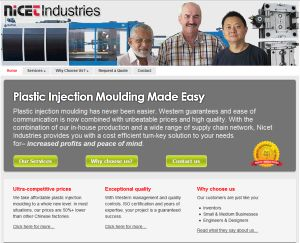 Plastic injection moulding - Nicet Industries