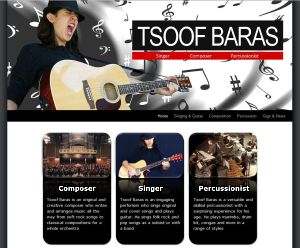 Tsoof Baras - percussionist