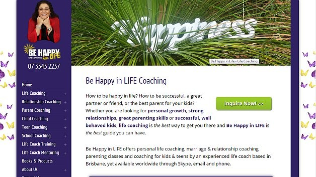 Be Happy in LIFE Coaching Services